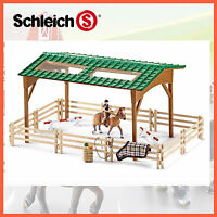NEW SCHLEICH HORSE RIDING ARENA SET 42189 HORSE CLUB EQUESTRIAN HAND PAINTED
