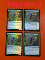 4x Iridescent Hornbeetle | FOIL | Zendikar Rising | MTG Magic Cards