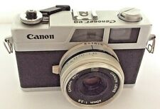 Canon Canonet 28 Compact 35mm Rangefinder Film Camera, 40mm f/2.8 Lens