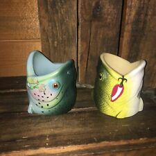 2 fish koozies Rep largemouth bass rainbow trout pro shops beer bottles fishing