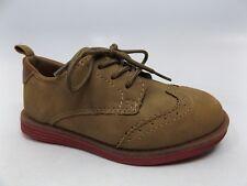 OshKosh B'Gosh Swift3 Oxford Scholl Uniform Shoes Sz 10 M Tan Pre Owned M919
