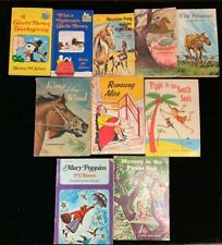 LOT OF 10 GREAT VINTAGE CHILDREN'S BOOKS, SCHOLASTIC