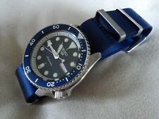 James Bond Nato Style Canvas Watch Strap for Seiko SRPD SKX SNZF SNZG 22 mm