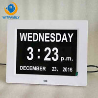 Multifunctional Digital Calendar Electronic Alarm Clock with Large Day and Month
