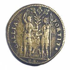 Jeton Royal Henri III 1586 Gallia Fortit / Persée Hans Krauwinckel