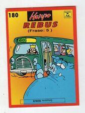 figurina card - HARPO MASTER CARDS  - numero 180