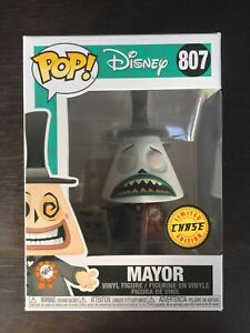 FUNKO POP DISNEY NIGHTMARE BEFORE CHRISTMAS MAYOR LIMITED CHASE EDITION  #807