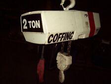 Coffing 2 ton hoist