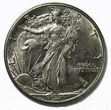 1941 D Walking Liberty Half Dollar 50c About Uncirculated