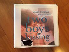 TWO BOYS KISSING Unabridged Audiobook David Levithan Fiction LGBT