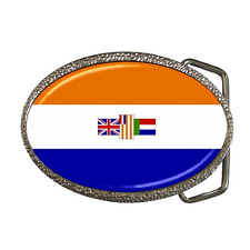 SOUTH AFRICA OLD FLAG BELT BUCKLE - GREAT GIFT ITEM