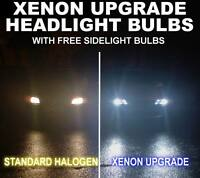 Xenon upgrade headlight bulbs Fiat Ducato Van H4 501