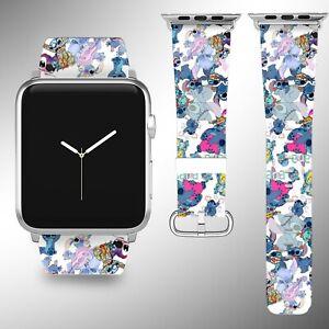 Lilo & Stitch Apple Watch Band 38 40 42 44 mm iWatch series 6 5 4 3 SE wristband