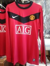 NWT Authentic Nike 2010 Manchester United Player Issue Rooney L/S Jersey