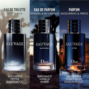 SAUVAGE Perfumes by DIOR for Men all products NIB Authentic