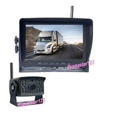 """Digital Inalámbrico HD 1080P Cámaras de Marcha Atrás Para Coches +7"""" DVR Monitor"""