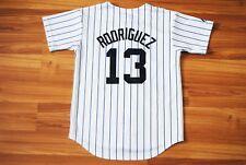KIDS BOYS MLB NEW YORK YANKEES #13 RODRIGUEZ MAJESTIC SEWN JERSEY 6-7 YEARS ?