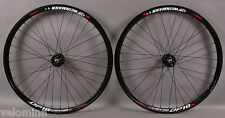 Weinmann DP18 Deep V Black 32h Track Bike Fixed Gear Wheels Wheelset DT Spokes