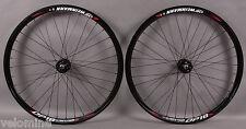Weinmann DP18 Deep V Black 32h Track Bike Fixed Gear Wheels Wheelset DT Spokes