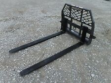"Bobcat Skid Steer Attachment - Bradco 72"" 6,200 Pound Pallet Forks - Ship $199"