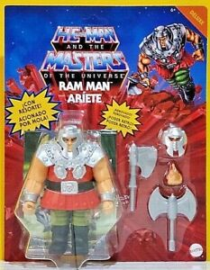 Mexican Variant Spanish MOTU Masters Of The Universe Origins RAM MAN deluxe HTF