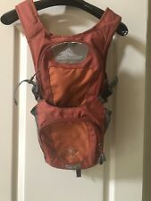 HIGH SIERRA Hiking Hydration Backpack Camping Outdoors 2L Burnt Orange Gray
