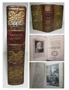 1823 THE COMPLETE ANGLER Izaak Isaac Walton CLASSIC FISHING Angling Rods Reels