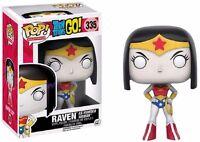 Funko Pop! Adolescente Titani Go! Raven Come Wonder Woman Exclsuive - Figura -