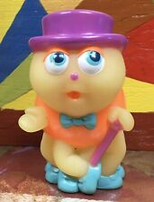 Vtg Hasbro Playskool Glow Worm Glo Friends Glo Bop Bug Finger Puppet Glows Gbb9