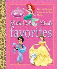 Little Golden Book Favorites: Disney Princess by Teddy Slater, Michael Teitelbau
