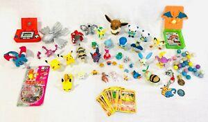 Pokemon Figure LOT Vintage TOMY Hasbro Jakks w/ Handheld Game FREE SHIPPING