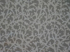 "Stunning John Rosselli Fabric ""Carollina"" in 07 Stone 8+ Yards"