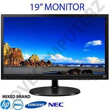 """Cheap 19"""" LCD TFT PC Movie Gaming CCTV VGA Monitor"""