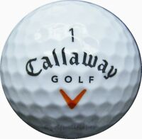 100 Callaway HX Hot Plus Golfbälle im Netzbeutel AA/AAAA Lakeballs HXHot Bälle