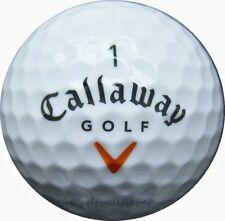 100 callaway HX Hot Plus pelotas de golf en la bolsa de malla aa/AAAA lakeballs hxhot pelotas
