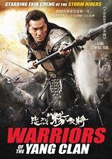 WARRIORS OF THE YANG CLAN  Hong Kong RARE Kung Fu Martial Arts Action movie - NE