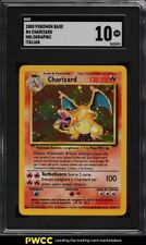 2000 Pokemon Game Italian Holo Charizard #4 SGC 10 GEM MINT