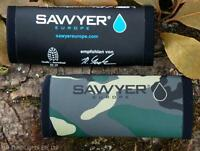 SAWYER MINI WATER FILTER NEOPRENE THERMAL PROTECTION SLEEVE BUSHCRAFT SURVIVAL