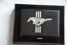Cigarette Case Metal Tobacco Box Ford Mustang GT500 Horse Muscle Car Logo Gift