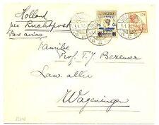 NED INDIE  1930-1-1  CV  WELTEVREDEN-WAGENINGEN   LP#4 M=KW €100   LEES!!  FINE