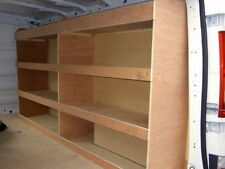 VW Transporter T6, T5 SWB Van Plywood Racking,Shelves,Storage, Pro Ply Liners