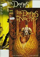 Paul Chadwick: LOS DONES DE LA NOCHE Saga completa (2 prestigios) NORMA, 1999