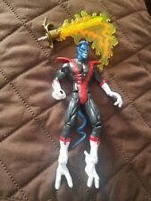 Vintage ToyBiz Marvel X-Men Nightcrawler Actoin Figure W/ Light Up Sword