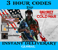 Call of Duty Black Ops Cold War 3 Hours Double XP | 2XP | Global NA-EU | 24/7