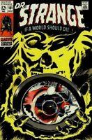 DOCTOR STRANGE #181 VG/F, Gene Colan c/a Marvel Comics 1969 Stock image