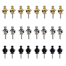 4-12 PCS Chrome Round Head Strap Locks Buttons for Guitar Bass Style Parts