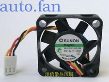 SUNON ME40101V1-0000-G99 DC12V 1.08W 40mm 4CM 40*40*10mm 3Wire Cooling Fan