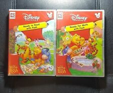 Disney Learning : Ready To Read and Math with Pooh *NEW / SEALED - PC / MAC