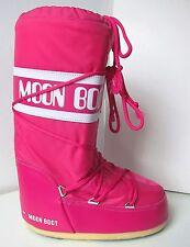 Tecnica Moon Boot nylon rosa talla 35/38 Moon Boots Moonboots bouganville magenta
