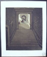 "W. H. Pyne: ""Ancient Staircase (Round Tower), Windsor"""